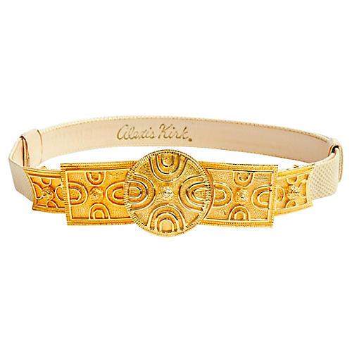 Alexis Kirk Gold Belt