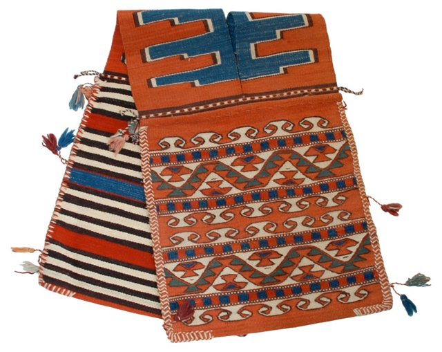 Turkish Kilim Saddlebag