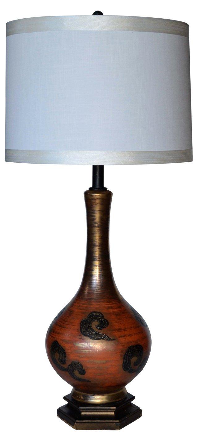 1950 Modernist Ceramic Lamp