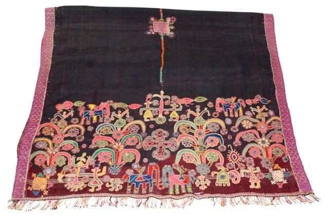 Antique Mutwa Bharat  Blanket