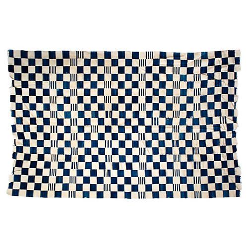 Handwoven Dogon Indigo Blanket
