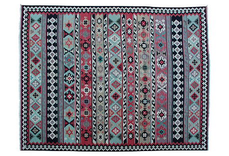 Caucasian Shirvan Kilim, 11'11