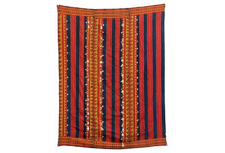 Philippine Kalinga Tribal Blanket