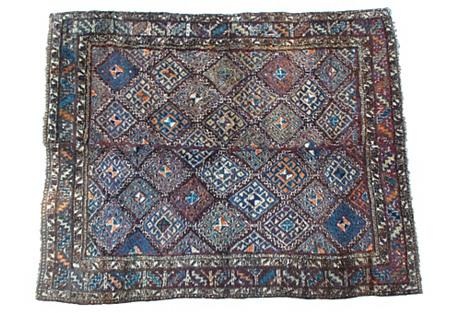 Uzbek Julkhyr Rug, 6' x 7'6