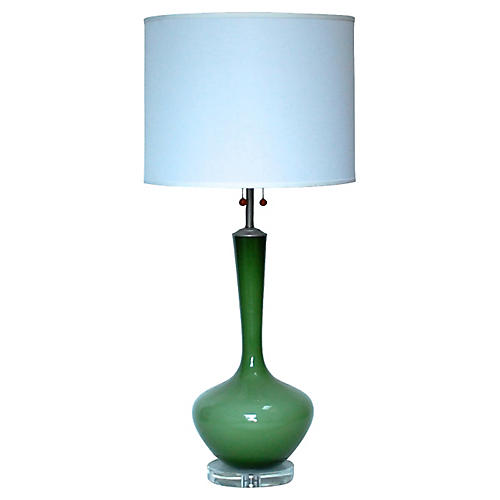 Marbro Glass Table Lamp