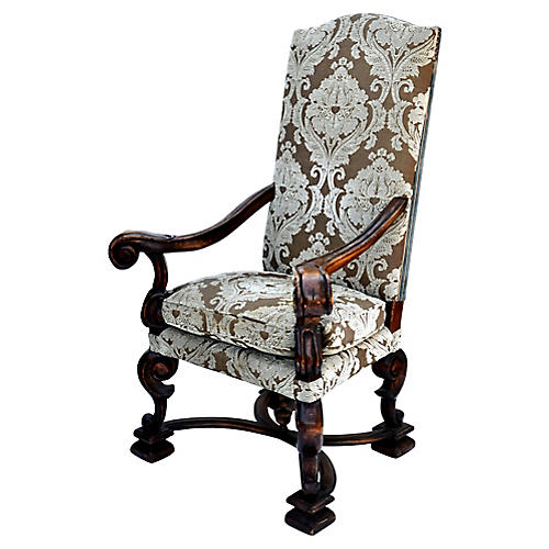 Spanish Revival Chair