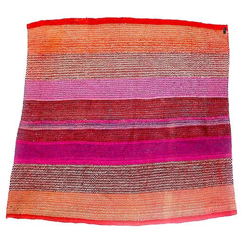 1970s Bolivian Wool Throw