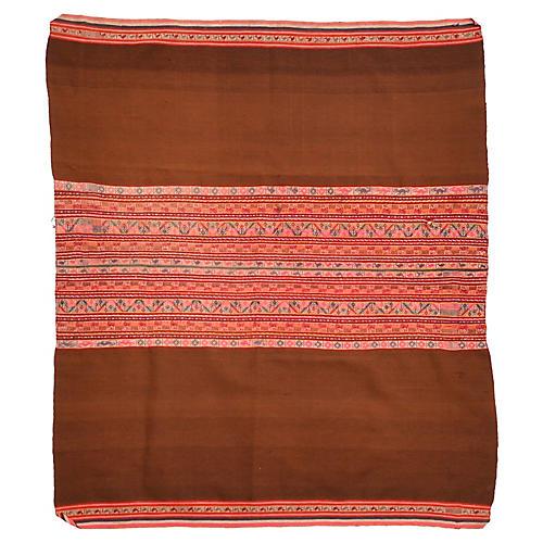 1940s Peruvian Wool Manta