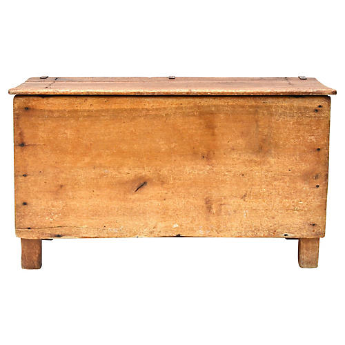 19th-C. Mexican Colonial Trunk