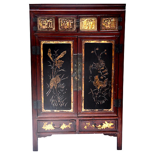 Antique Chinese Qing Dynasty Cabinet