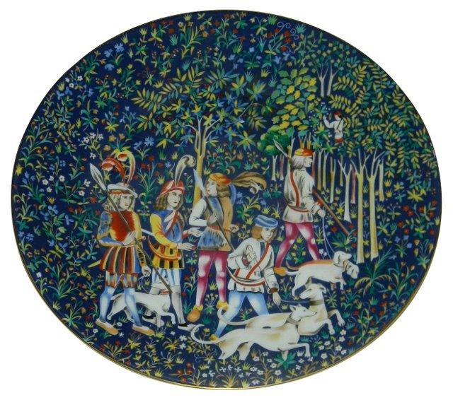 Haviland & Parlon Tapestry Plate