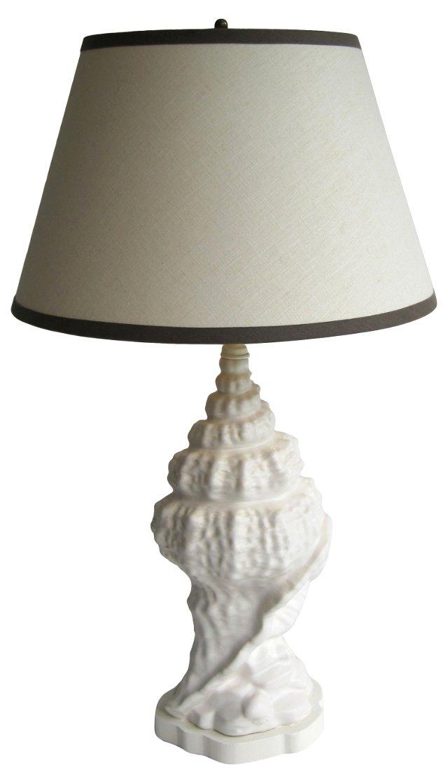 Resin Conch Lamp