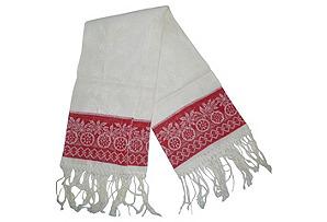 Aristocratic Towel w/ Red Border