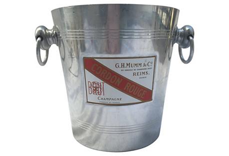 Mumm's Cordon Rouge Ice Bucket
