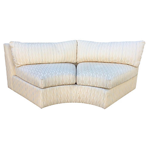 Drexel Pastel Arrow Print Loveseat
