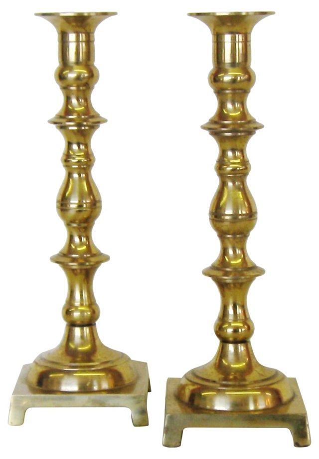 Japanese Candlesticks, Pair
