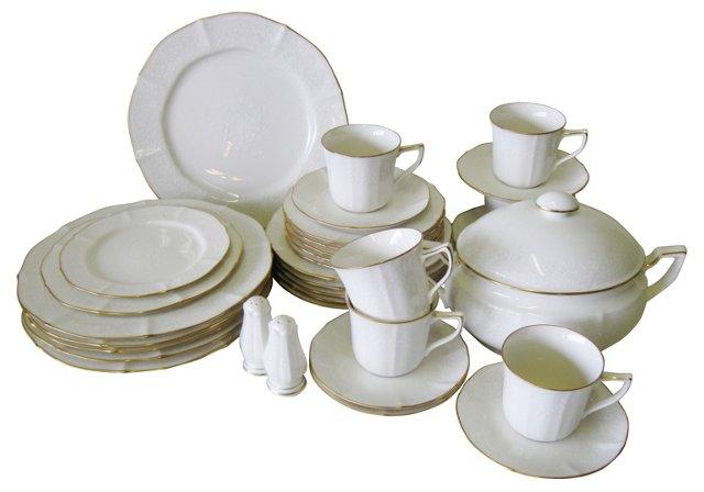 Noritake Chandon Dinnerware, Svc. for 6