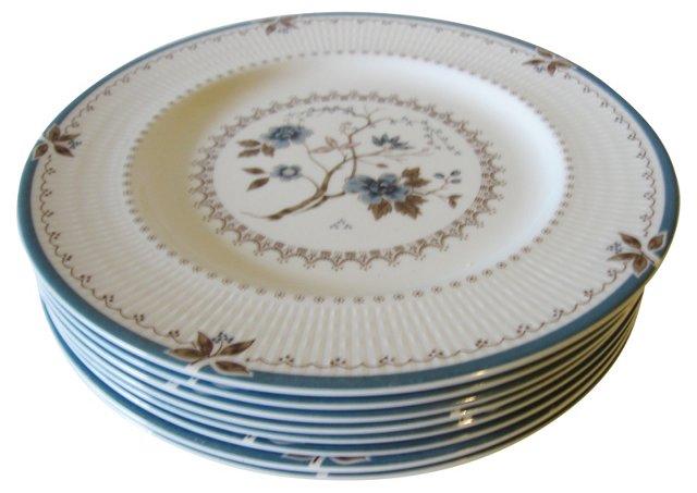 Royal Doulton Dinner Plates, S/8