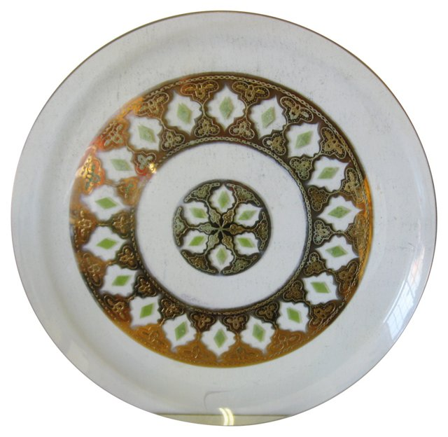 Culver Glass Plate