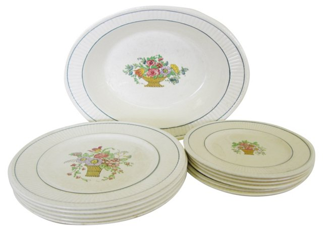 Wedgwood Plates, Set of 12