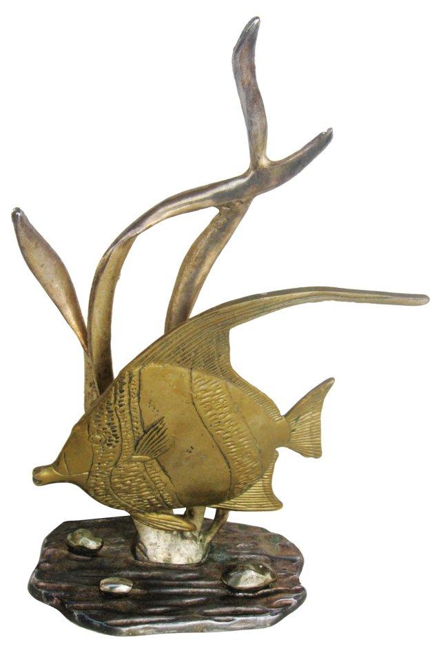 Brass Fish Statue