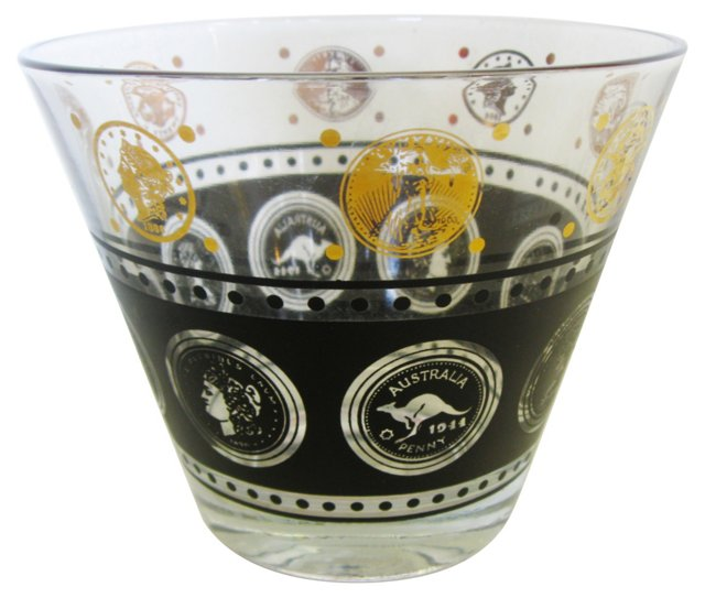 Black & Gold Ice Bowl