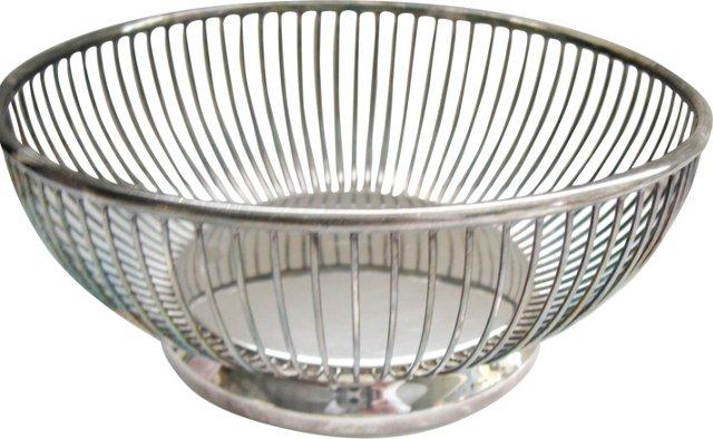 Silverplate   Fruit Basket