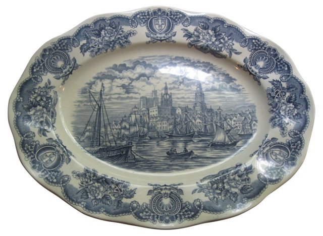 Historical Port Ironstone Platter