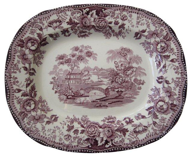 Royal Staffordshire Tonquin Platter