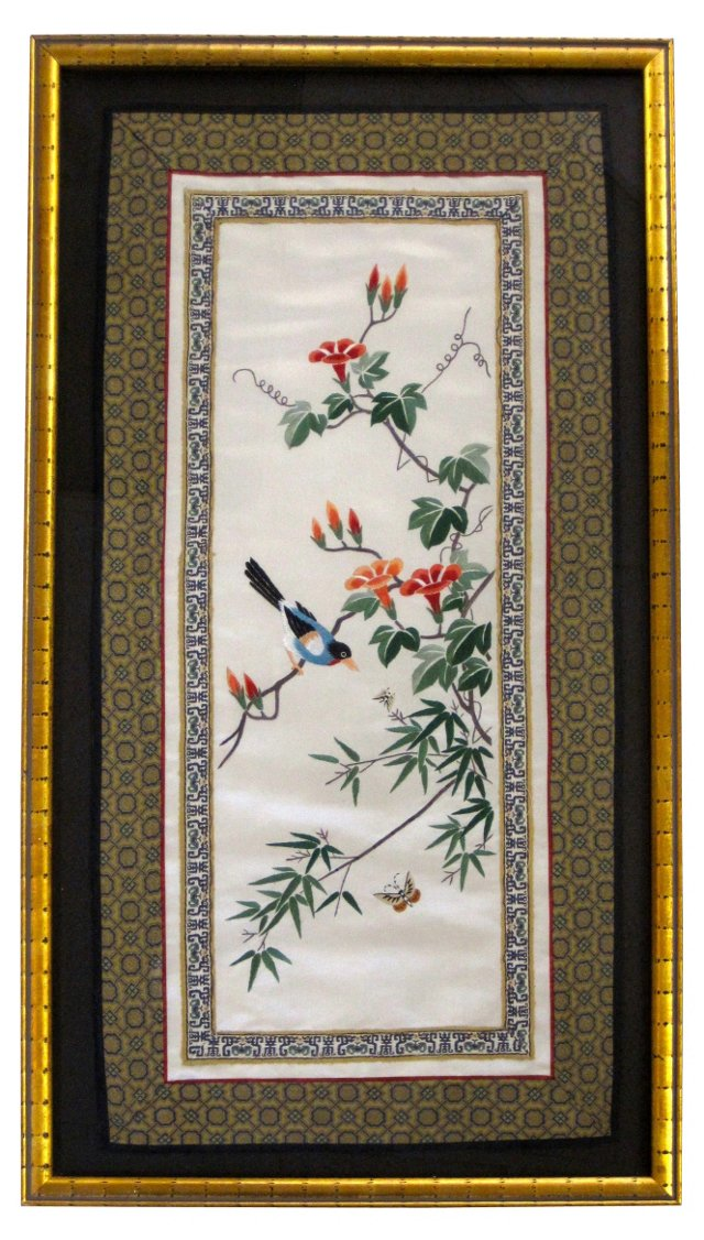 Asian Silk Embroidery
