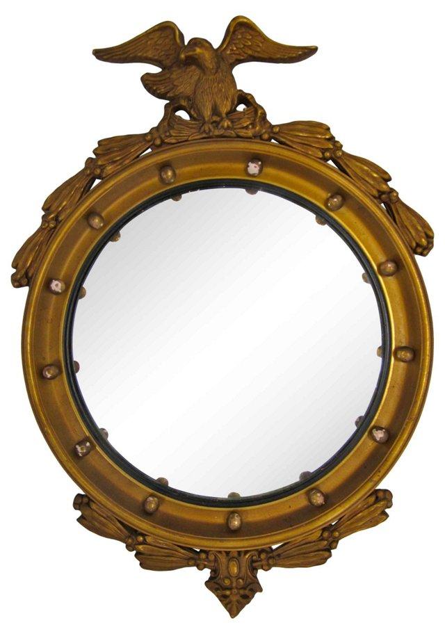 Convex Mirror w/ Eagle