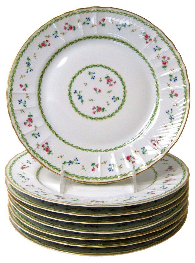 Bernardaud Artois Dinner Plates, S/8