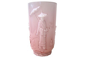 Fenton Pink Vase