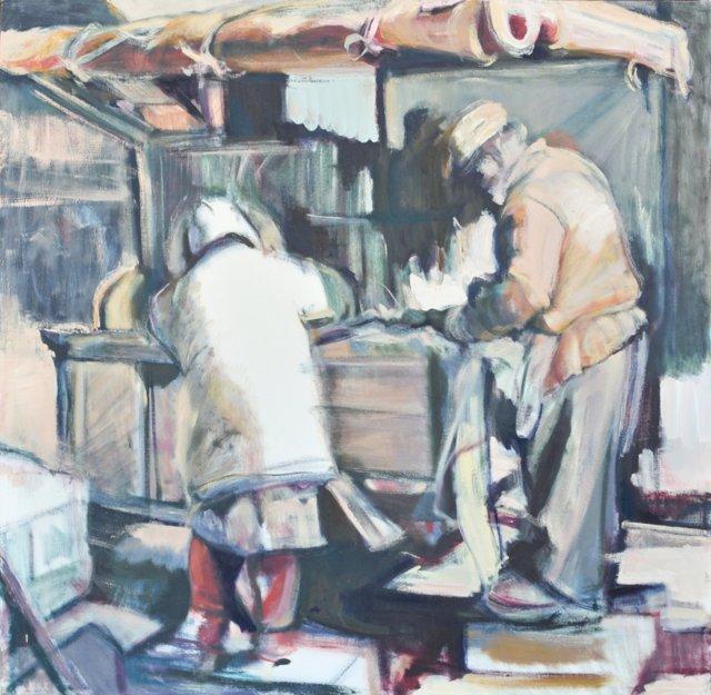 Street Vendors by Katherine Cogan
