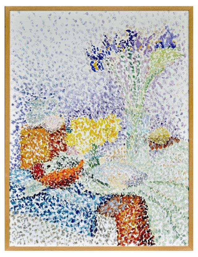 Pointillist-Style Still Life