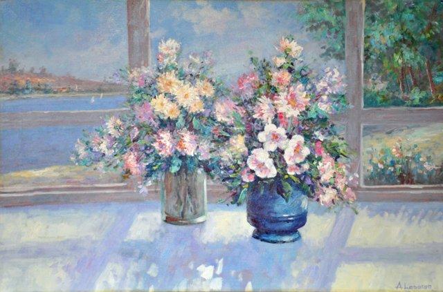 Tabletop Floral Still Life