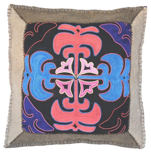 Kyrgyz Felt      Pillow