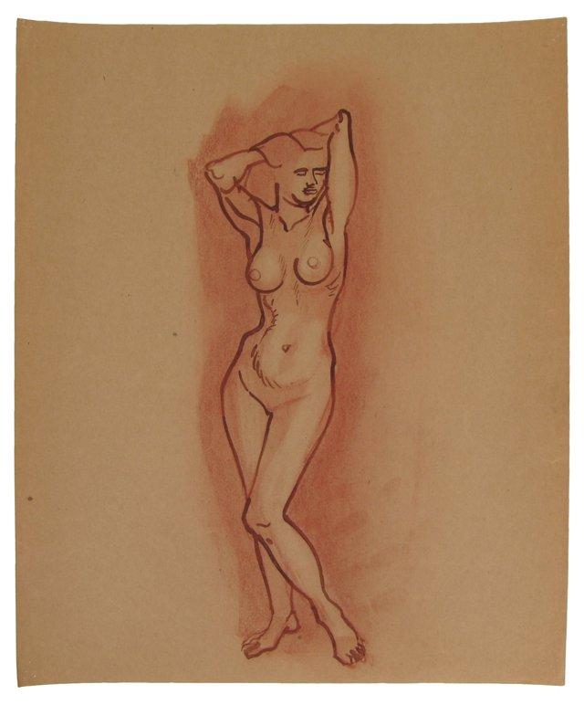 Slender Nude