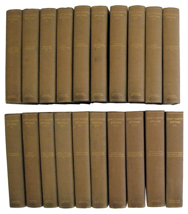 The Writings of Bret Harte, S/20