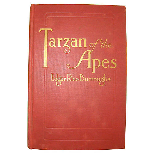 Tarzan of the Apes, First Ed