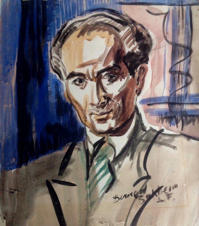 Portrait by Bernard Baruch Zakheim