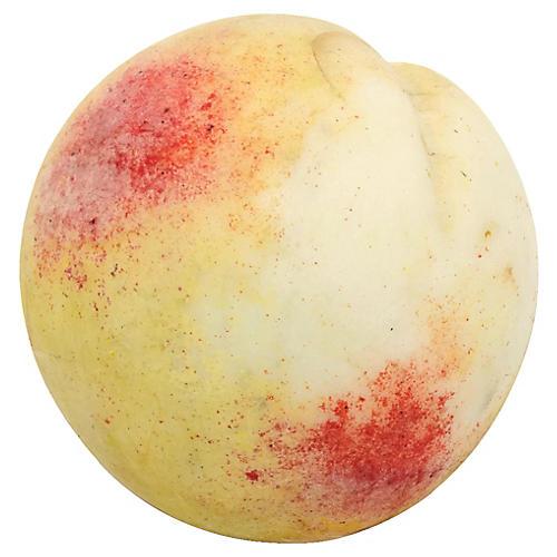 Midcentury Italian Alabaster Peach