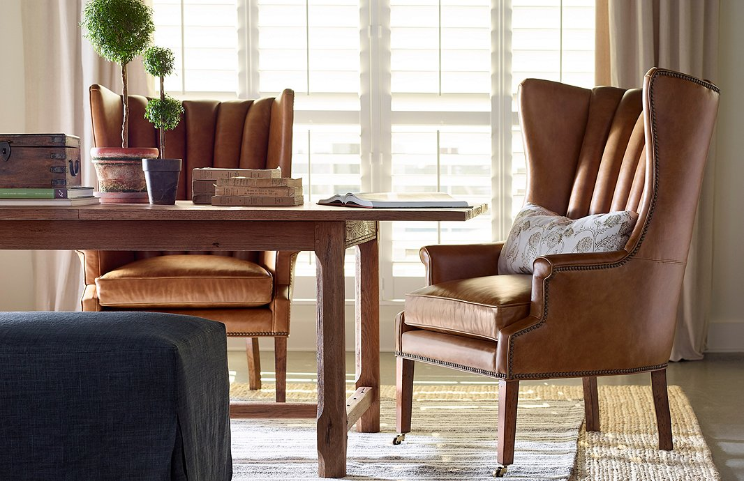 Essential Guide To The Wingback Chair, Wingback Dining Room Chairs